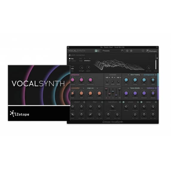 iZotope VocalSynth Vocal Effect Plug-in (Serial Download)