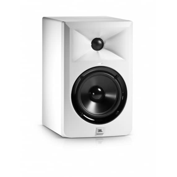 JBL LSR305 Active Studio Monitor - Single (White)