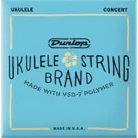 Jim Dunlop DUQ302 Ukulele Strings, Concert 4-Set