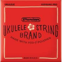 Jim Dunlop DUQ303 Ukulele Strings, Soprano Pro 4-Set