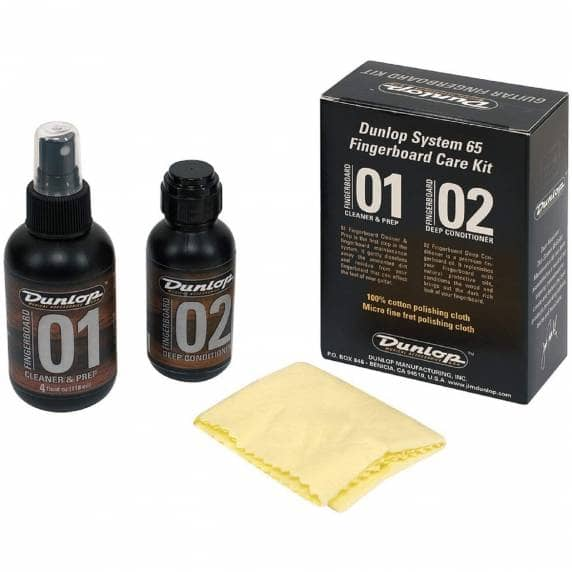 Jim Dunlop Guitar Fingerboard Cleaning Care Kit