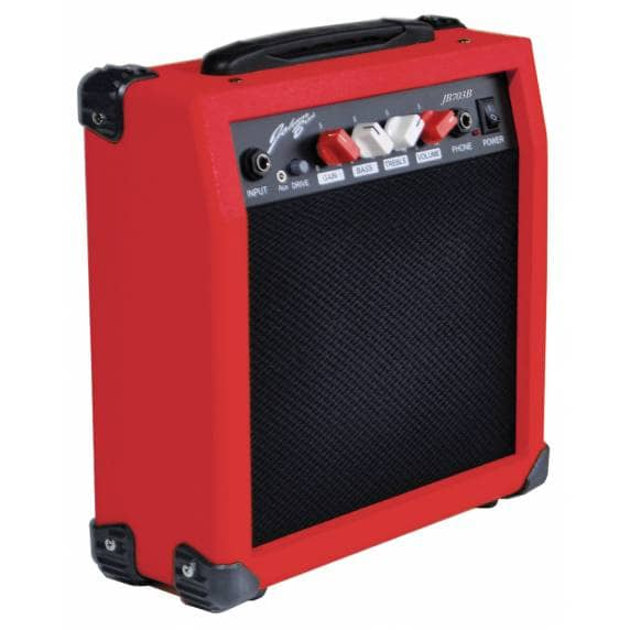 Johnny Brook 20W Compact Guitar Amplifier - Red