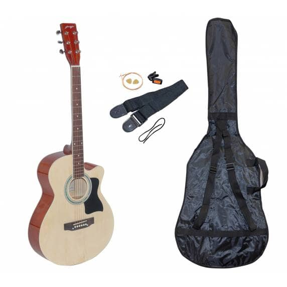 Johnny Brook Acoustic Guitar Kit with Bag, Strap & Tuner