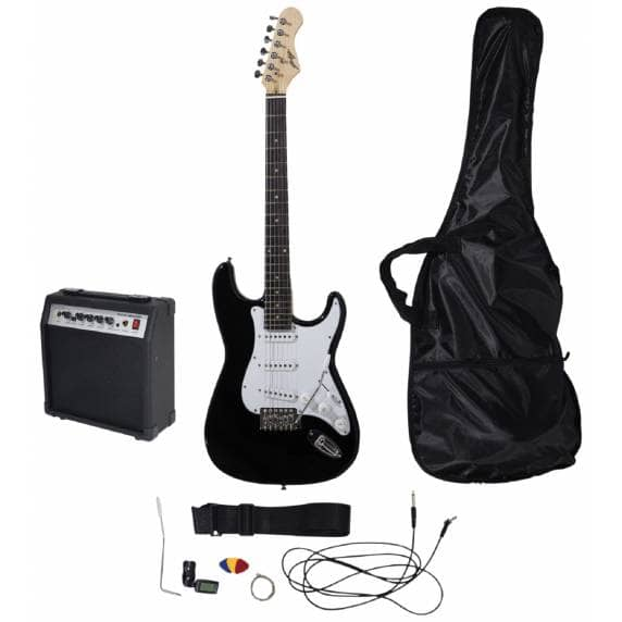 Johnny Brook Guitar Kit With Amplifier (Black)