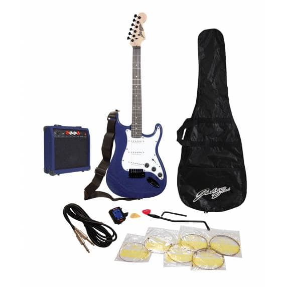 Johnny Brook Guitar Kit With Amplifier (Blue)