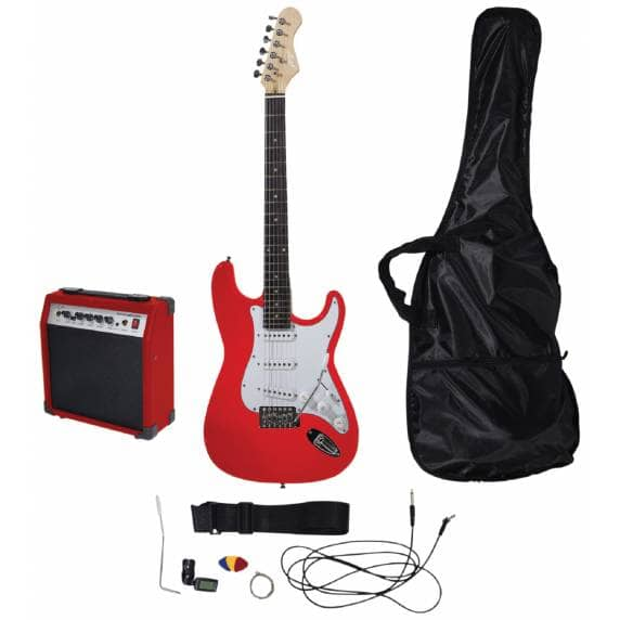 Johnny Brook Guitar Kit With Amplifier (Red)
