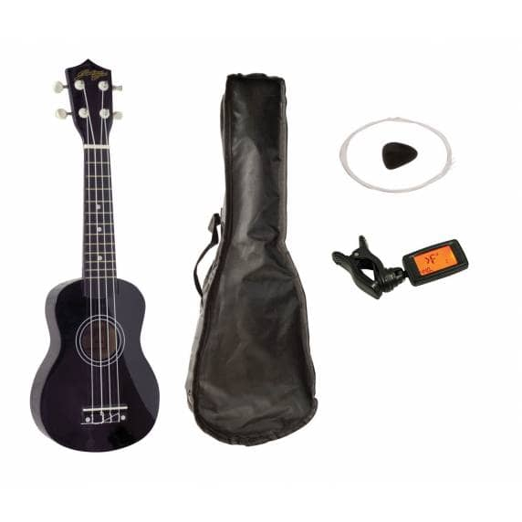 Johnny Brook Soprano Ukulele Kit (Black)