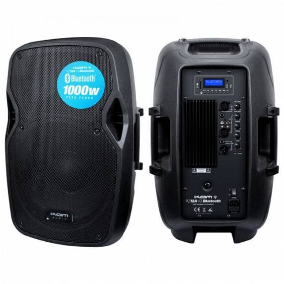 "KAM 12"" 250W Bluetooth Active PA Speaker"