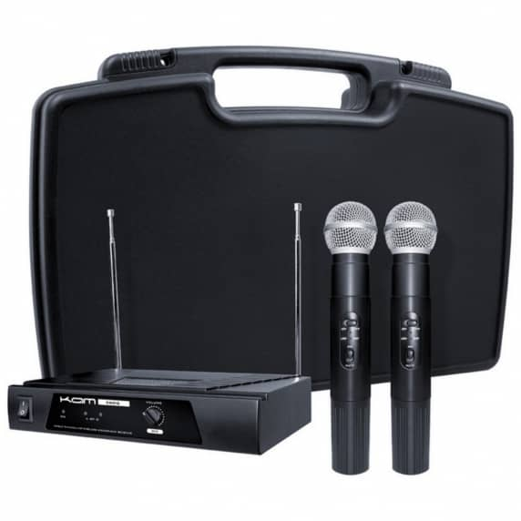 Kam KWM11 Wireless Dual Microphone System - 174.1/174.5