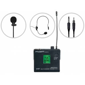 Kam KWM1960 BP 60 Kit (channel 70) Wireless Microphone System
