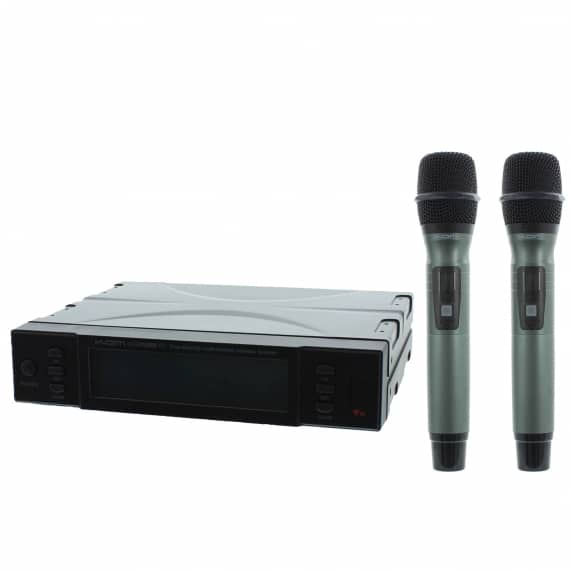 Kam KWM1960 HH V2 Dual Wireless Microphone System 863.0/865.0 MHz
