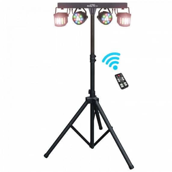 Kam Light Effects Bar with Lights & Stand