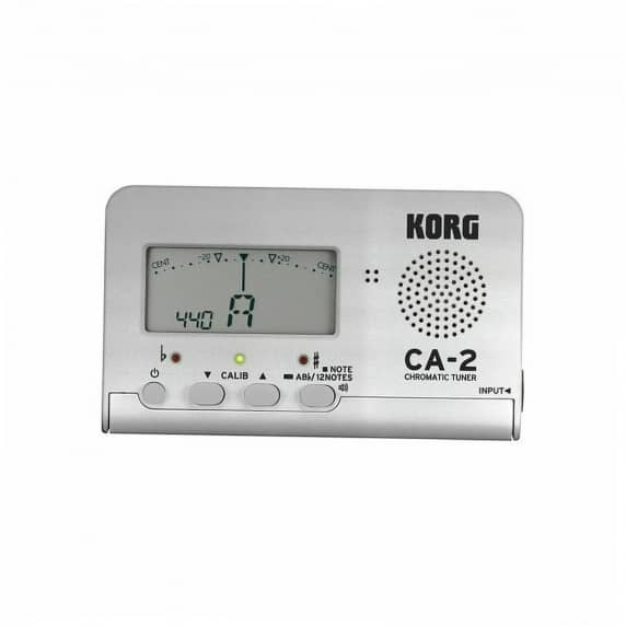 Korg CA- 2 Limited Edition Silver Chromatic Tuner
