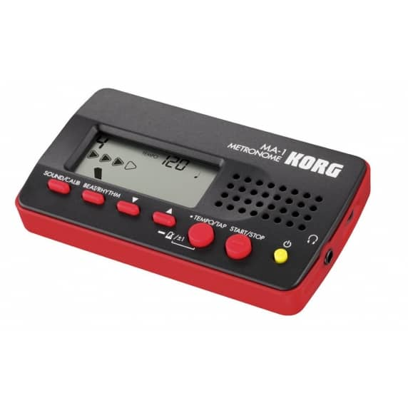 Korg MA-1 Digital Metronome Black/Red - B Stock