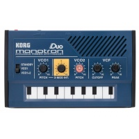 Korg Monotron DUO Dual Oscillator Analog Pocket Synthesizer-B STOCK