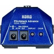 Korg PitchBlack Advance Pedal Tuner - Special Edition Blue