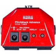 Korg PitchBlack Advance Pedal Tuner - Special Edition Red
