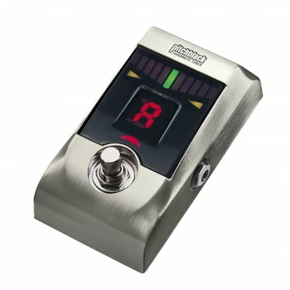 Korg PitchBlack Guitar Tuner- Limited Edition Brushed Nickel