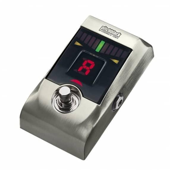 Korg PitchBlack Guitar Tuner- Limited Edition Brushed Nickel