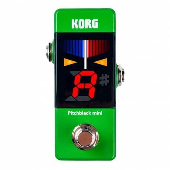 Korg Pitchblack Mini (Green) Guitar Pedal Tuner
