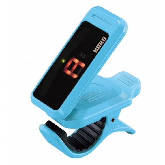KORG Pitchclip Chromatic Clip-on Tuner - Blue