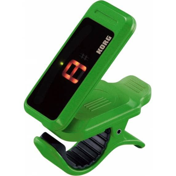 KORG Pitchclip Chromatic Clip-on Tuner - Green