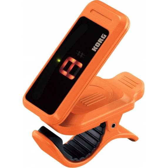 KORG Pitchclip Chromatic Clip-on Tuner - Orange