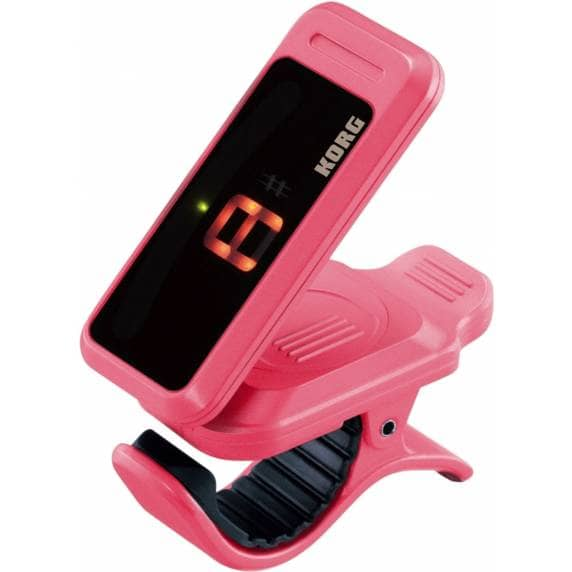 KORG Pitchclip Chromatic Clip-on Tuner - Pink