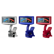 Korg Pitchcrow Clip On Guitar Tuner | Metallic Blue (Limited Edition)