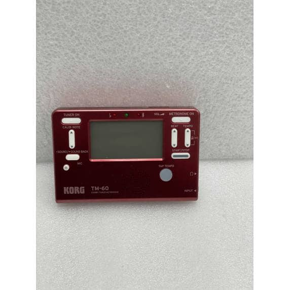 Korg TM-60 Limited Edition Combo Tuner/Metronome - Marvel Red - B Stock-1