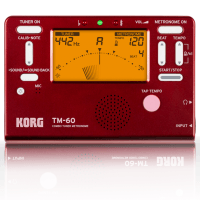 Korg TM-60 Limited Edition Combo Tuner/Metronome - Marvel Red - B Stock