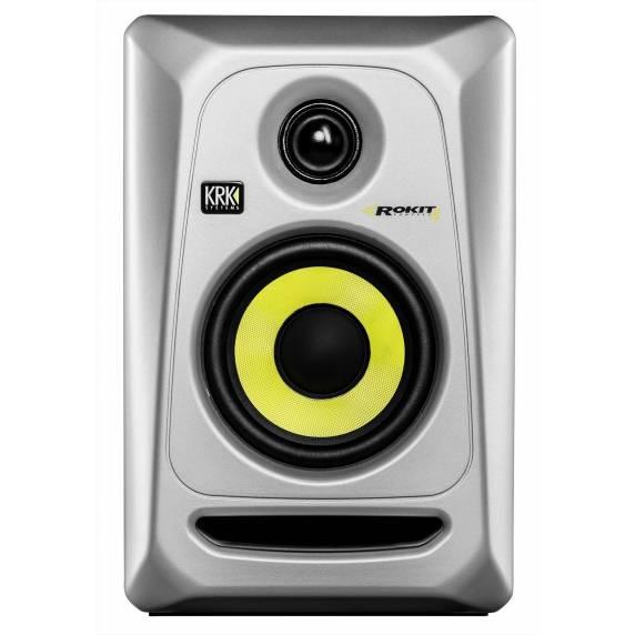 KRK Rokit RP4 G3 Active Studio Monitor - Silver