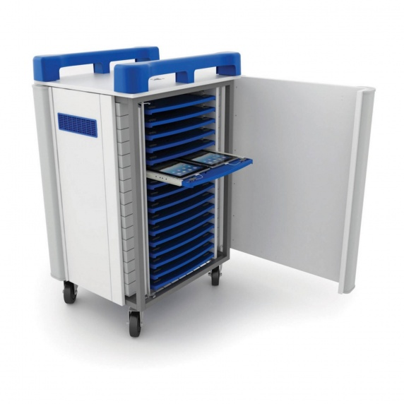 LapCabby TabCabby 32 Port Charge & Sync Trolley