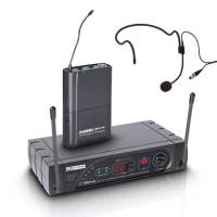 LD Systems ECO 16 Series - Wireless Microphone System with Belt Pack and Headset