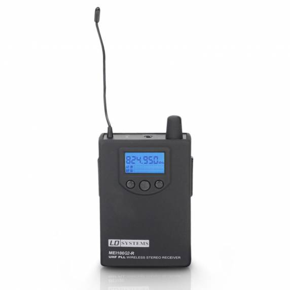 LD Systems LDMEI100G2BPR - Receiver For LDMEI100G2 Monitoring System