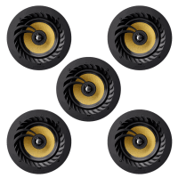 "Lithe Audio 5.0 Home Cinema 6.5"" Ceiling Speaker Package - 5 x 01556"