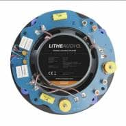 "Lithe Audio 6.5"" Stereo Ceiling Speaker, 60W RMS, 8+8 Ohms"