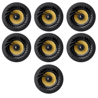 "Lithe Audio 7.0 Home Cinema 6.5"" Ceiling Speaker Package - 7 x 01556"