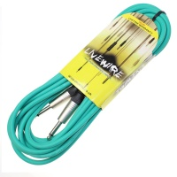 Livewire 3m Jack to Jack Guitar Lead - Green - Livewire Instrument Cable