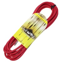 Livewire 6m Jack to Jack Guitar Lead - Red Instrument Cable