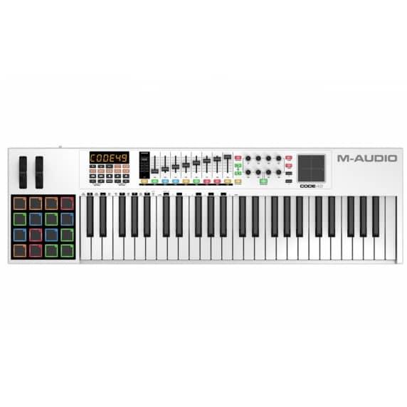M-Audio Code 49 Controller Keyboard (White)