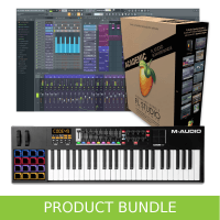 Inta Audio M-Audio Code 49 Keyboard and FL Studio 20 Educational Bundle