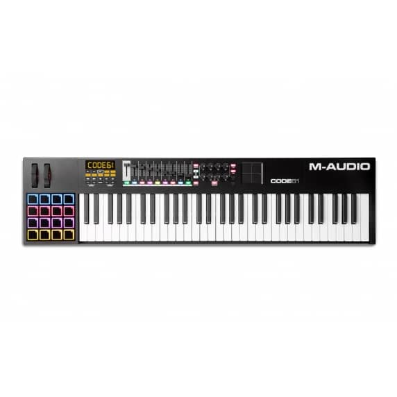 M-Audio Code 61 Controller Keyboard (Black)