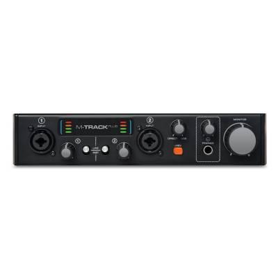 m audio m track plus mkii usb audio interface plus m audio from inta audio uk. Black Bedroom Furniture Sets. Home Design Ideas