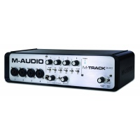 M-Audio M Audio M-Track Quad 4 Channel Portable USB Audio Midi Interface