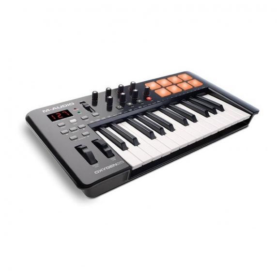 M Audio Oxygen 25 V4 USB Midi Controller Keyboard