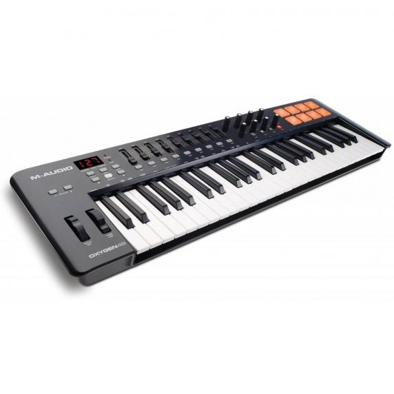 M Audio Oxygen 49 MK4 USB Midi Controller Keyboard