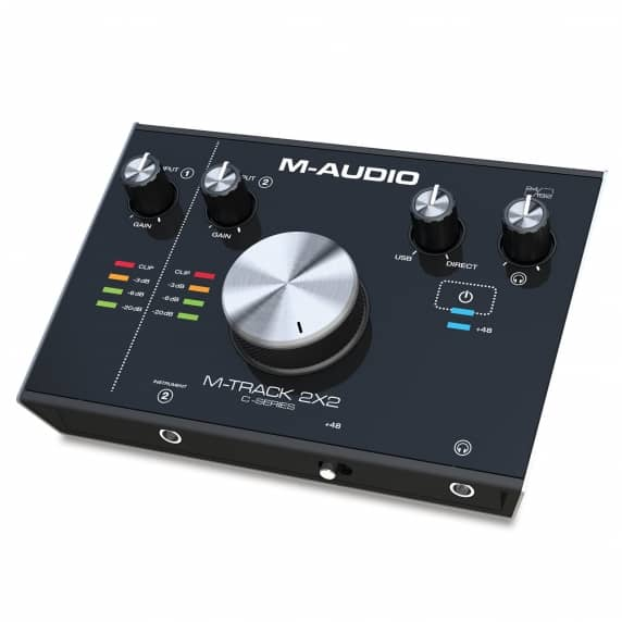 M-Track 2X2 2-In / 2-Out 24/192 USB Audio Interface - B-STOCK