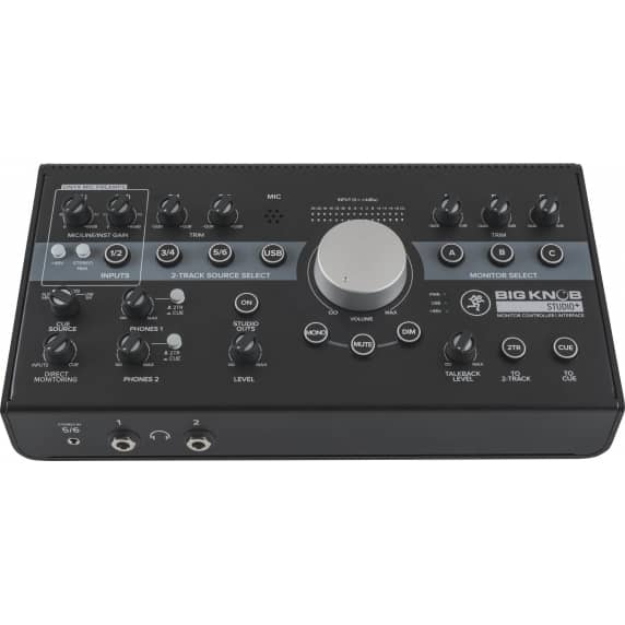 Mackie Big Knob Studio+ Monitor Control & USB Interface - B Stock