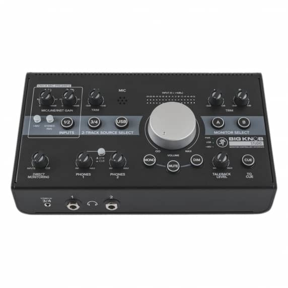 Mackie Big Knob Studio Monitor Controller & USB Interface